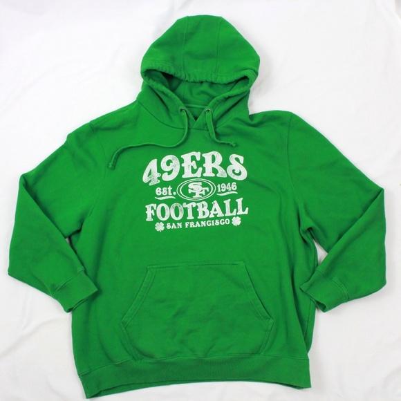 online retailer 716cd a87b9 NFL Pro Line 49ers Hoodie Adult 3XL 3X Three Panel